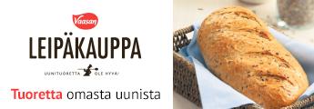 Minimani Vaasan leipäkauppa